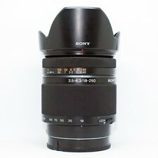 *MINT*Sony SAL 18-250mm f/3.5-6.3 DT Lens+UV FILTER(BOX FULL)