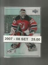 2007 08 UPPER DECK UD ICE BASE SET ( 100 CARDS ) MINT CROSBY OVECHKIN ++