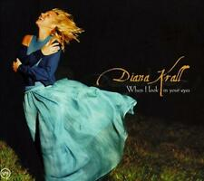 DIANA KRALL - WHEN I LOOK IN YOUR EYES - CD, 1999