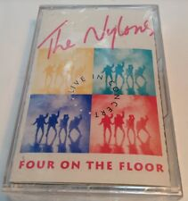 THE NYLONS Tape Cassette FOUR ON THE FLOOR 1991 Attic USA 72392-75224-4 LIVE