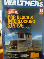 Walthers Cornerstone HO #2982 PRR Block Interlocking Station Kit form