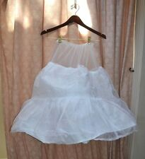 CRINOLINE Poufy Under Skirt Slip Womens S or Girls HALLOWEEN South Belle