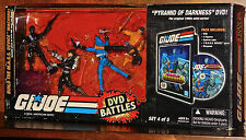 G.I. Joe 25th Anniversary DVD Battle Pack Pyramid Darkness Set 4 of 5 SEALED NEW