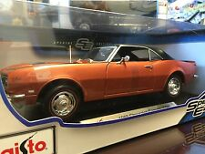 Maisto 1:18 Scale Diecast Model - 1968 Chevrolet Camaro Z/28 (Metallic Bronze)