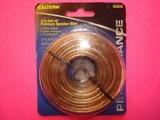 2/18 AWG 30 ft PREMIUM SPEAKER WIRE 100% STRANDED COPPER POWER GROUND AUDIO HOME