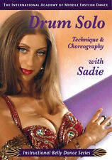 Sadie Drum Solo - Belly Dance DVD Video - How to Belly Dance