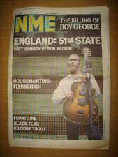 NME 1986 JUL 12 BOY GEORGE 51ST STATE THE HOUSEMARTINS