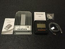 NEW 2215BN Tracer 20A 12/24V MPPT Solar Charge Controller with MT50 Remote Meter