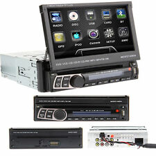 "Amovible 1Din 7"" car dvd cd player nav gps radio rds bluetooth pour autoradio"