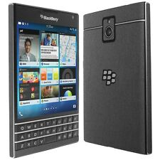 Skinomi Brushed Steel TechSkin+Clear Screen Protector for Blackberry Passport