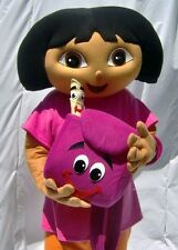 Dora mascot costume adult size poly foam head free shipping