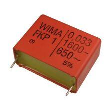 WIMA FKP1 Polypropylen Folien-Kondensator FKP 1 1600V 0,033uF 5% 27,5mm 024084