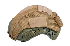 AIRSOFT FAST PJ TYPE BASE JUMP HELMET COVER TAN UK stock