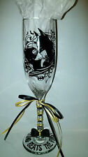 BATMAN AND CATWOMAN Custom Wedding Glasses