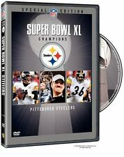 NFL Super Bowl 40 (XL) - Pittsburgh Steelers Champions [DVD] NEU