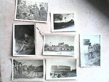 Lotto vecchie foto soldati tedeschi SECONDA GUERRA MONDIALE Roma e dintorni 1941