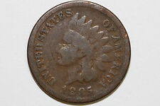 Up for Sale is One Bronze 1885 Indian Head Cent Grading Good (Stock #: IPX686)