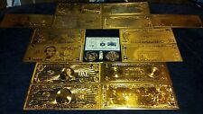 FULL SET SILVER BAR&GOLD $1-100 REP.*+ GOLD FLAKE&MORE~FREE-SHIPPING~GREAT GIFT