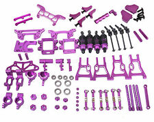 HSP RC 1:10 On Road &Drift Car flying fish 94103 94123 AL Upgrade Parts Purple