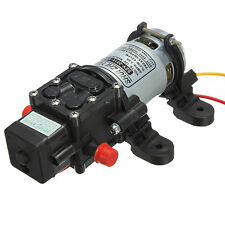 12V 100PSI 4L/Min High Pressure Diaphragm Water Pump For Car GardenMarine Home