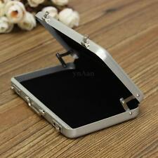 Metal Suitcase Change Cash Money ID Name Credit Business Card Holder Case Box