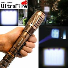 High Power 3000 LM Ultrafire Zoomable CREE Light XM-L T6 LED Flashlight Torch