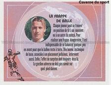 H LES CONSEILS DE MEXES - FRAPPE DE BALLE VIGNETTE STICKER  PANINI FOOT 2003