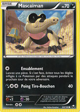 Mascaiman  -N&B:Explorateurs Obscurs-64/108-Carte Pokemon Neuve France