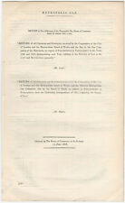 1868 London Metropolis Gas Company Report of Charges and Expenses