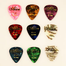 10pcs 0.71mm Musical Accessories Word Alice Guitar Picks Mix Plectrums