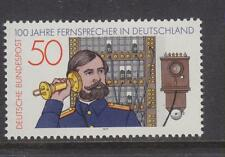 WEST GERMANY MNH STAMP DEUTSCHE BUNDESPOST 1977 TELEPHONE IN GERMANY  SG 1837