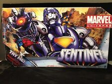 "Marvel Universe 16"" SENTINEL w/ WOLVERINE NIB Rare Hasbro 2010 Phrases And Light"