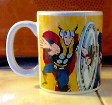 Marvel Comics Super-Heroes Characters  Ceramic Tea Coffee Mug 12 oz