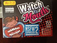 Watch Ya'' Mouth Adult Phrase Card Game Expansion Pack #2