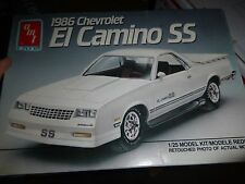 AMT 1986 CHEVY EL CAMINO SS PICKUP MODEL CAR MOUNTAIN KIT 1/25 #6964 OPEN