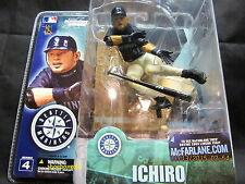 Ichiro Suzuki, Seattle Mariners, 2003 Series 4 McFarlane Figure, New In Box