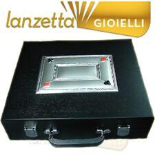 VALIGIA 28x30 LEGNO AG 925 PORTA CARTE + FICHES + DADI