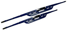 """2 PC 18"""" AND 24"""" Inch Oktane Blue Windshield Wiper Blade Set Of 2"""