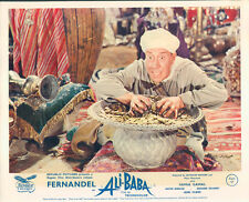 ALI BABA AND THE FORTY THIEVES ORIGINAL LOBBY CARD FERNANDEL POT OF GOLD