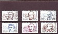 a104 - FRANCE - SG2513-2518 MNH 1982 RED CROSS FUND - CELEBRITIES