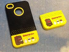 Domo-Kun NHK's Mascot iPhone 4/4S Black/Yellow Quality Hard Case Made In Korea