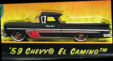 JADA 59 1959 CHEVY CHEVROLET EL CAMINO ROAD RAT HOT ROD STYLE COLLECTIBLE CAR