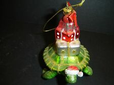 SEA TURTLE CARRY GIFTS CHRISTMAS ORNAMENT BY KURT ADLER