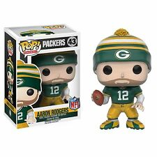 Funko Pop NFL Football Wave 3 Packers Aaron Rodgers Vinyl Figure Collectible Toy