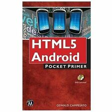 2014-01-23, HTML5 Mobile Pocket Primer with DVD, Campesato, Oswald, Very Good, -