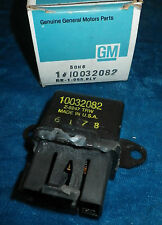NOS 1982-1990 A/C COMPRESSOR COOLING FAN RELAY OEM GM #10032082 CADILLAC BUICK