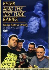 Peter & The Test Tube Babies Keep Britain Untidy Live 2004 DVD NEW SEALED Jinx+