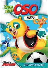 Special Agent Oso: License To Play (2014, DVD New)