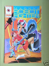 MAGNUS ROBOT FIGHTER - VALIANT COMIC - #17 - VG