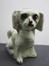 VINTAGE GREEN CHALK DOG.